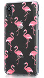 BeHello Gel iPhone XR hoesje Flamingo