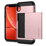 Spigen Slim Armor CS iPhone Xr hoesje Rose