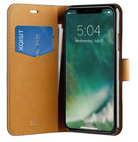 Xqisit Slim Wallet iPhone XR hoesje Zwart