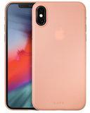 LAUT SlimSkin iPhone XS hoesje Roze