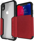 Ghostek Exec 3 iPhone XR hoesje Rood