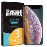 Ringke Glass 3 Pack iPhone X/XS screenprotector