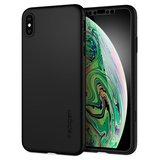 Spigen Thin Fit 360 iPhone XS Max hoesje Zwart