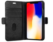 dbramante1928 Mode Milano iPhone XR Wallet hoesje Zwart