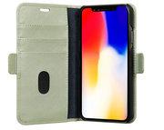 dbramante1928 Mode Milano iPhone XR Wallet hoesje Groen