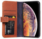 Decoded Card WalletiPhone Xr hoesje Bruin