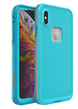 LifeProof Fre iPhone XS Max waterdicht hoesje Blauw