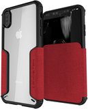Ghostek Exec 3 iPhone XS Max hoesje Rood
