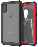 Ghostek Nautical 2 iPhone XS Max waterdicht hoesje Rood