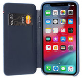 Decoded Slim Wallet iPhone XR hoesje Blauw