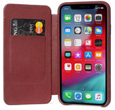 Decoded Slim Wallet iPhone XR hoesje Paars