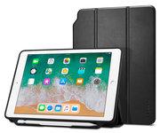 Spigen Smart Fold iPad 2018 / 2017 hoesje Zwart