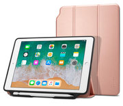 Spigen Smart Fold iPad 2018 / 2017 hoesje Rose