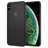 Spigen Air Skin iPhone XS Max hoesje Zwart