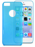 Puro Crystal Cover iPhone 5C Blue