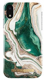 iDeal of Sweden iPhone XR hoesje Marble Groen