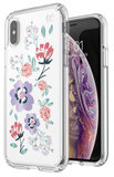 Speck Presidio Clear Print iPhone XS hoesje Canopyfloral