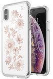 Speck Presidio Clear Print iPhone XS hoesje Fairytalefloral
