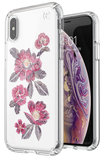 Speck Presidio Clear Print iPhone XS hoesje Floral Embroidered