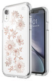 Speck Presidio Clear Print iPhone XR hoesje Fairytale Floral