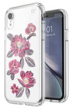 Speck Presidio Clear Print iPhone XR hoesje Embroidered Floral