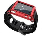 LunaTik horlogeband iPod nano Red