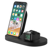 Belkin Boost draadloos iPhone + Watch oplaadstation Zwart