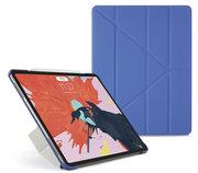 Pipetto Origami iPad Pro 12,9 inch 2018 hoesje Blauw