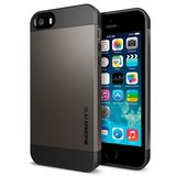 Spigen Slim Armor S iPhone 5S/SE case Gun Metal