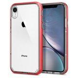 Spigen Neo Hybrid Crystal iPhone Xr hoesje Coral