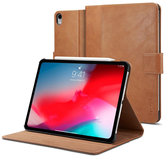 Spigen Stand Folio iPad Pro 12,9 inch 2018 + Pencil hoesje Bruin
