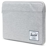 Herschel Anchor MacBook 13 inch USB-C sleeve Lichtgrijs