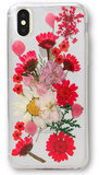 Recover Flower iPhone XS / X  hoesje Rood