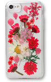Recover Floral iPhone 8 / 7 hoesje Rood