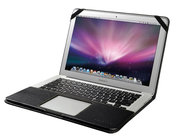 Decoded Leather Slim Cover MacBook Air 13 inch Black