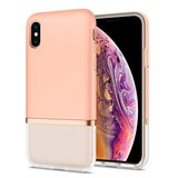 Spigen Manon Jupe iPhone XS Max hoesje Roze
