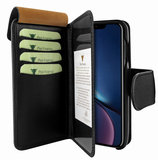 Piel Frama WalletMagnum iPhone XR hoesje Zwart