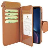Piel Frama WalletMagnum iPhone XR hoesje Tan