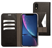 Mobiparts Classic Wallet iPhone XR hoesje Zwart