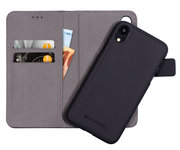 Mobiparts 2 in 1 Wallet iPhone XR hoesje Zwart