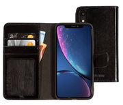 Mobiparts Excellent Wallet iPhone XR hoesje Zwart