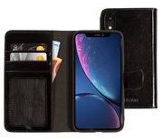 Mobiparts Excellent Wallet iPhone XR hoesje Zwart