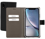 Mobiparts Premium Wallet iPhone XR hoesje Zwart