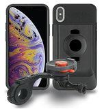 Tigra FitClic Neo iPhone XS Max fietshouder Forward Zwart