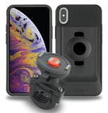 Tigra FitClic Neo iPhone XS Max motorfietshouder Zwart