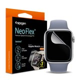 Spigen Neo Flex Apple Watch 44 mm screenprotector 3 pack