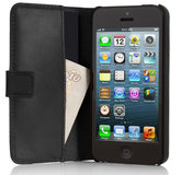 Pipetto Leather Folio iPhone SE/5S hoesje Black
