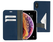 Mobiparts Classic Wallet iPhone XS / X hoesje Blauw