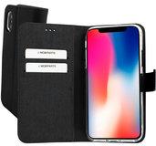 Mobiparts Premium Wallet iPhone XS / X hoesje Zwart