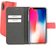 Mobiparts Premium Wallet iPhone XS / X hoesje Roze